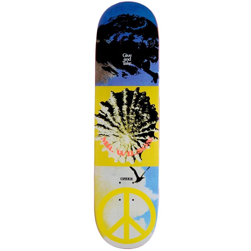 Quasi Wilson AquariusSkateboard Deck 8.125 X 31.75
