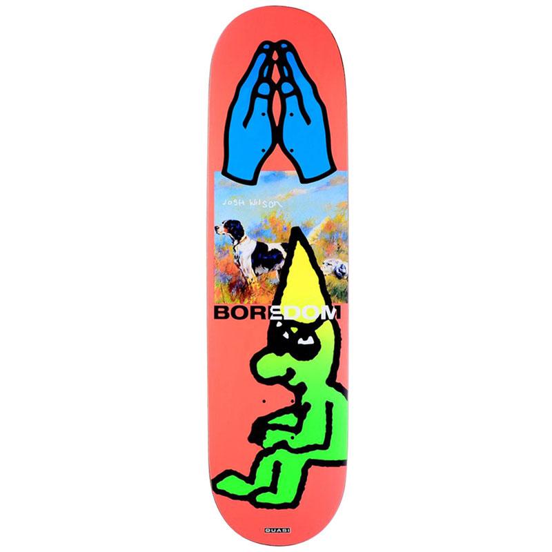 Quasi Wilson Bored Skateboard Deck 8.25