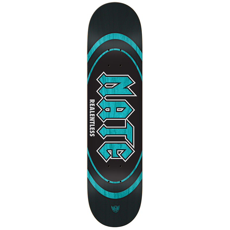 Real Actions Realized Nate Realentless Skateboard Deck 8.25