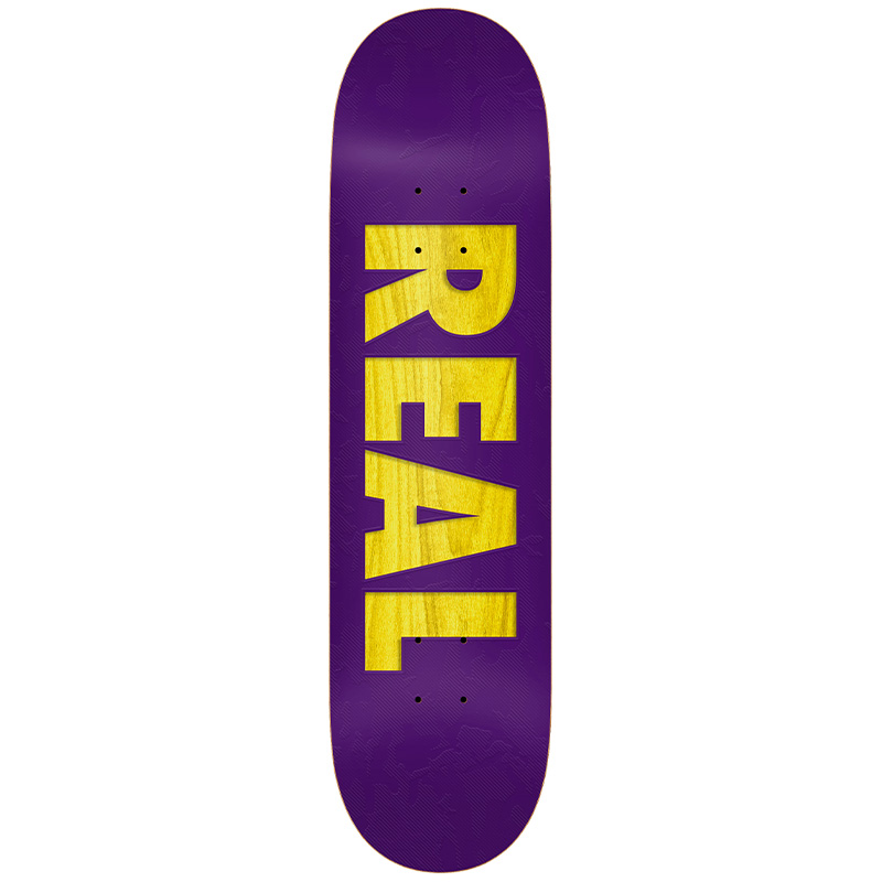 Real Bold Redux Skateboard Deck Purple 8.38