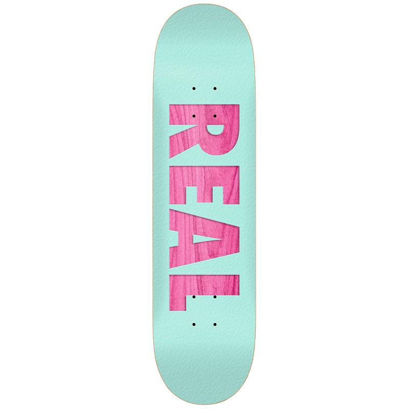 Real Bold Redux Skateboard Deck Teal 8.12