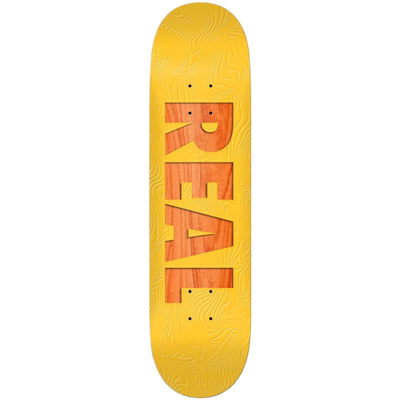 Real Bold Team Skateboard Deck Assorted Veneers 8.06