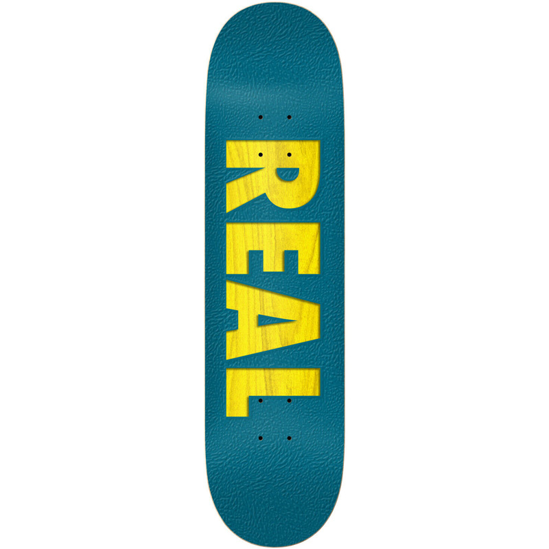 Real Bold Team Skateboard Deck Assorted Veneers 8.25