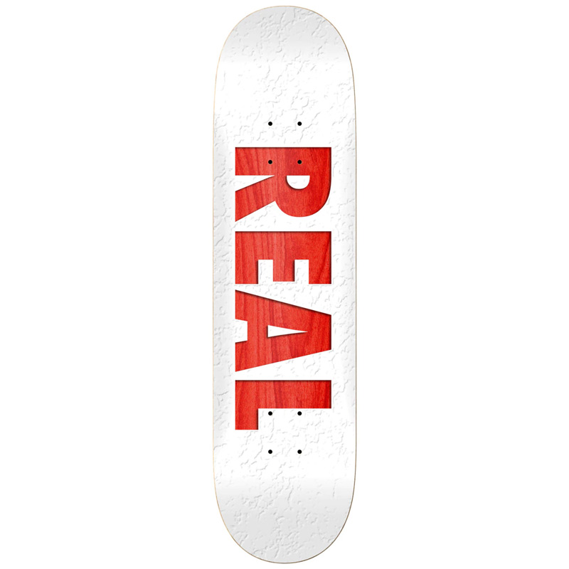Real Bold Team Skateboard Deck Assorted Veneers 8.5