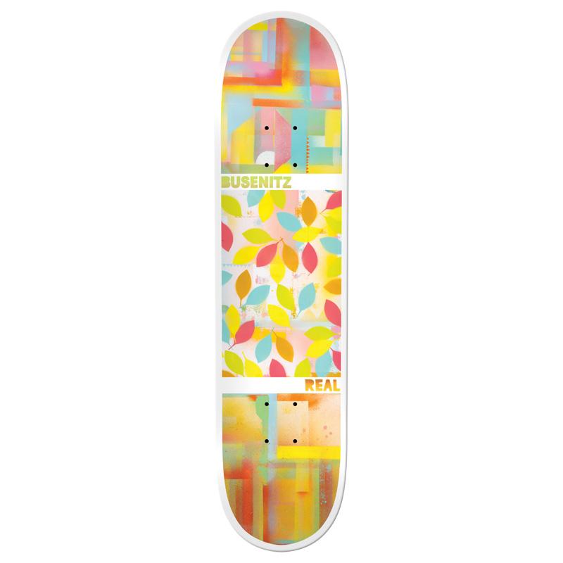 Real Busenitz Acrylics Skateboard Deck 8.06