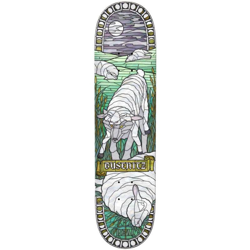 Real Busenitz Cathedral Skateboard Deck 8.06