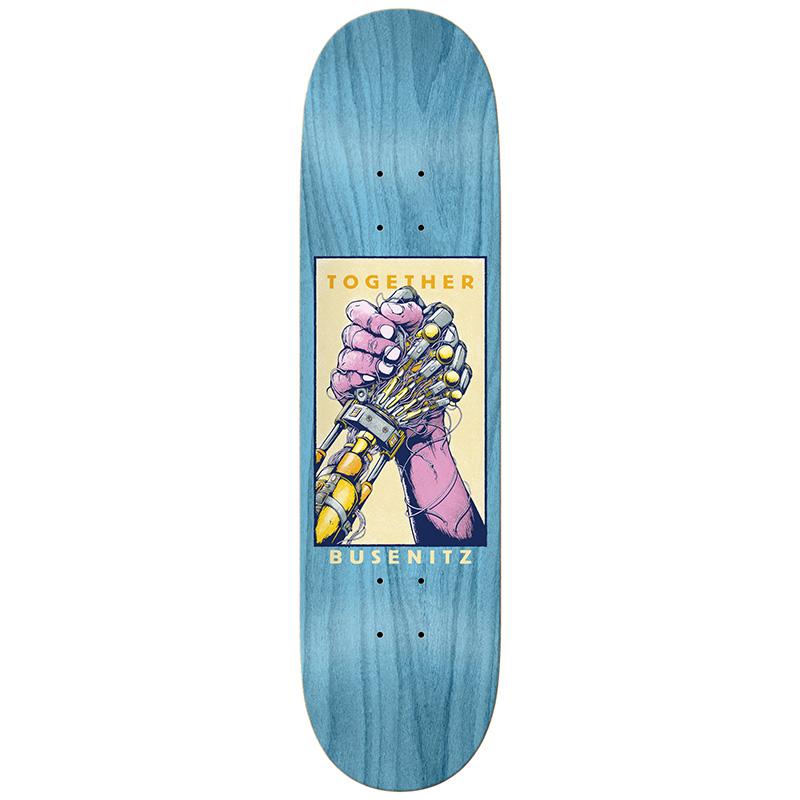 Real Busenitz Together Skateboard Deck Multi 8.25