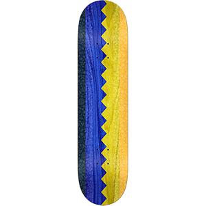 Real Busentiz Zip Up Skateboard Deck 8.06