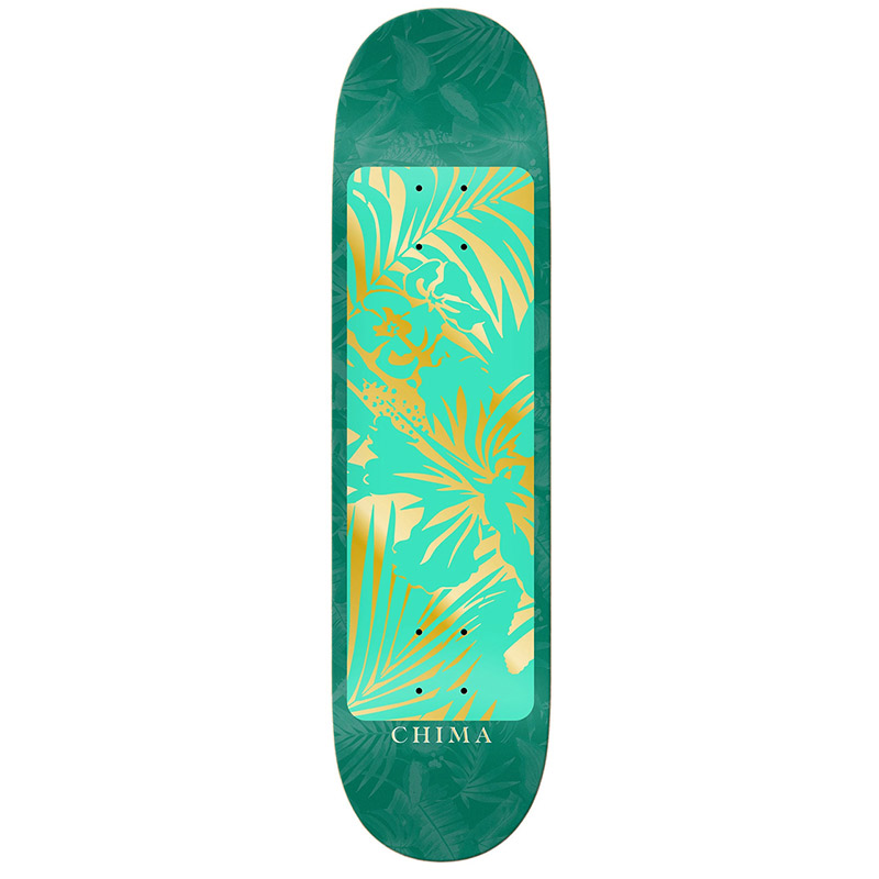 Real Chima Flora Skateboard Deck 8.06