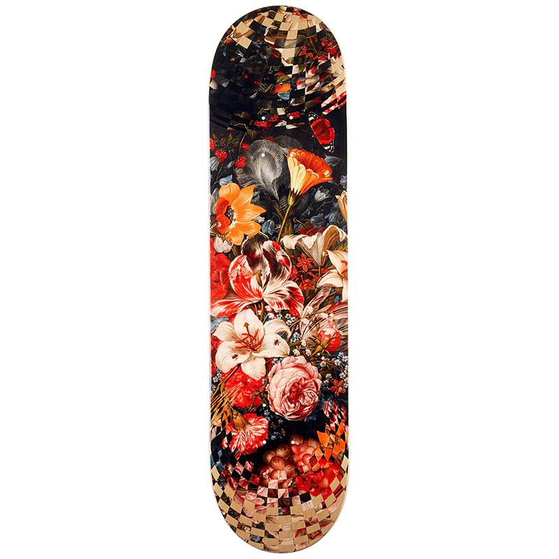 Real Chima Op Art Skateboard Deck 8.125