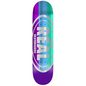 Real Chima Shine Oval Skateboard Deck 8.06