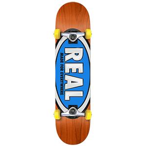 Real Classic Oval Mini Complete Skateboard 7.38
