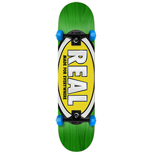 Real Classic Oval Small Complete Skateboard 7.5