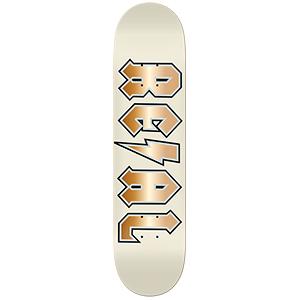 Real Deeds Elite Skateboard Deck Cream 8.25