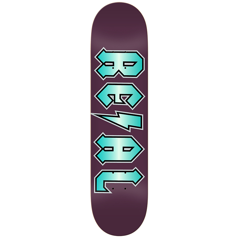 Real Deeds Elite Skateboard Deck Purple 8.5