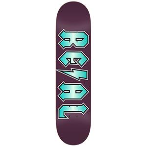 Real Deeds Elite Skateboard Deck Purple 8.5