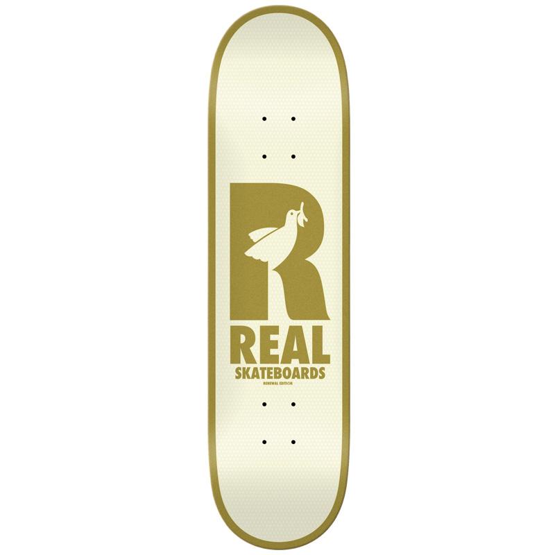 Real Dove Redux Renewals Skateboard Deck Cream 8.38