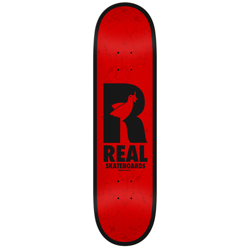 Real Dove Redux Renewals Skateboard Deck Red 8.5