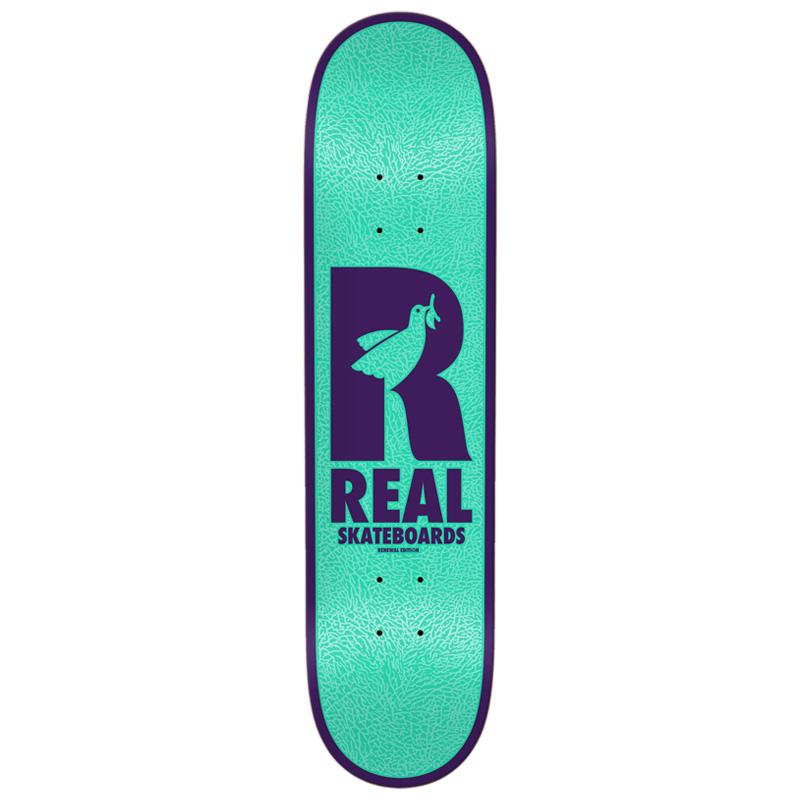 Real Dove Redux Renewals Skateboard Deck Teal 8.06