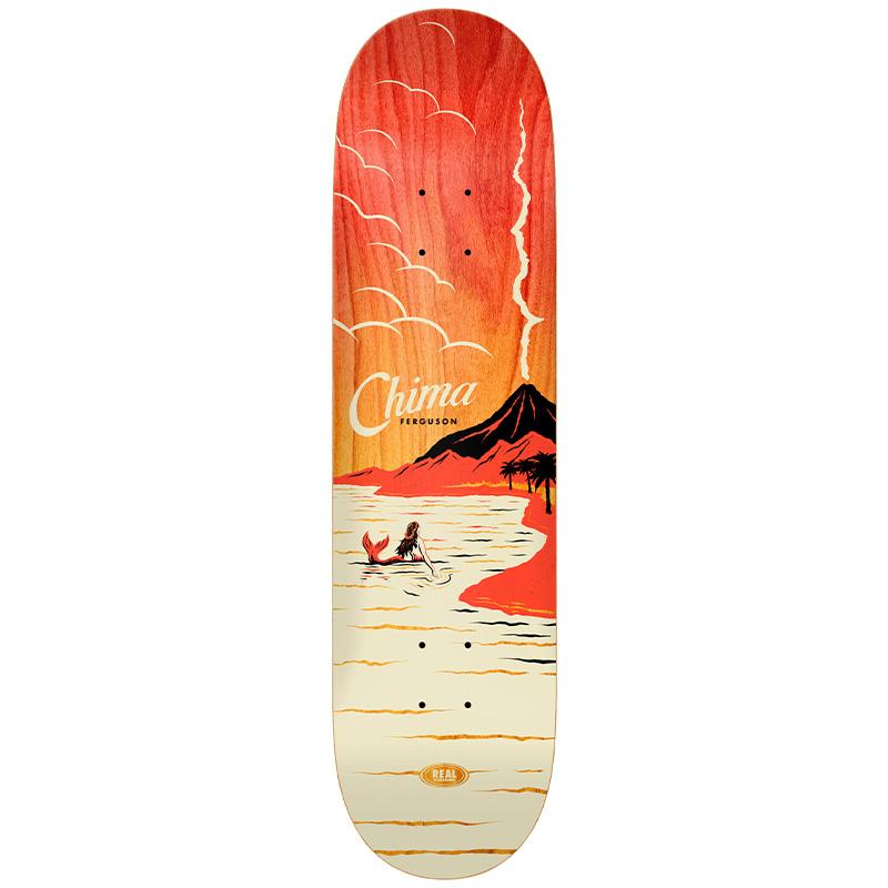 Real Ferguson Hot Spot Skateboard Deck 8.06