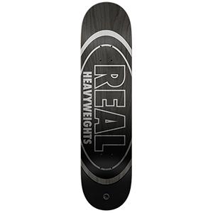 Real Heavyweight Skateboard Deck Black 8.5