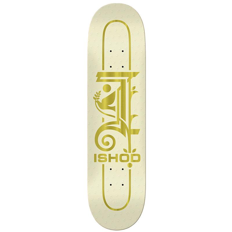 Real Ishod Crest Skateboard Deck Full Shape 8.5