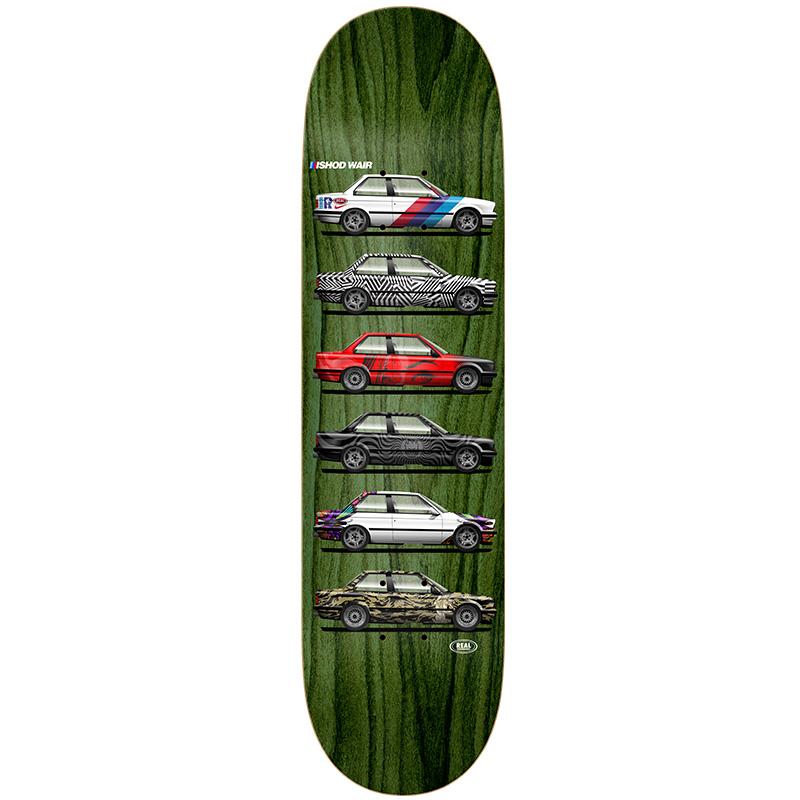Real Ishod Customs Twin Tail Skateboard Deck 8.25