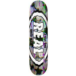 Real Ishod Glitch Oval Skateboard Deck 8.5