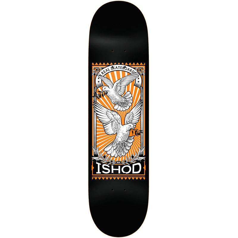 Real Ishod Matchbook Skateboard Deck 8.5