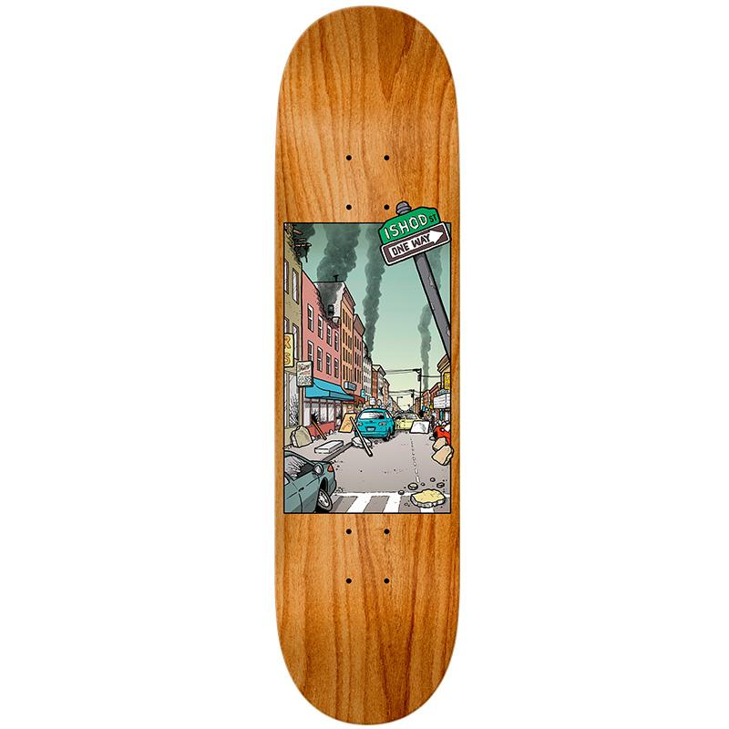 Real Ishod Nice Neighborhood Skateboard Deck 8.06