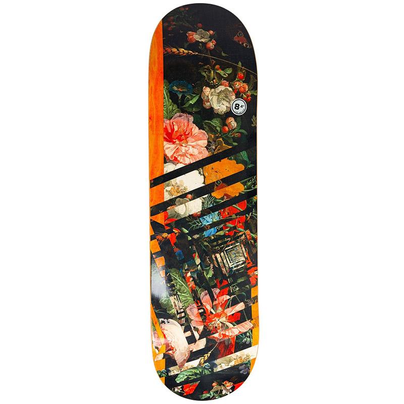 Real Ishod Op Art Skateboard Deck 8.4
