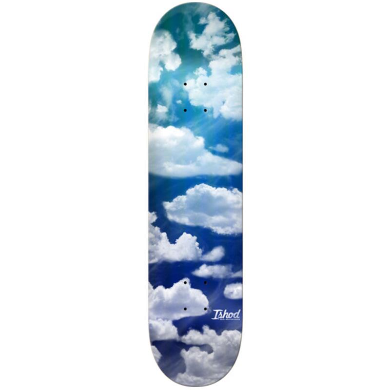 Real Ishod Sky High Foil Skateboard Deck 8.38