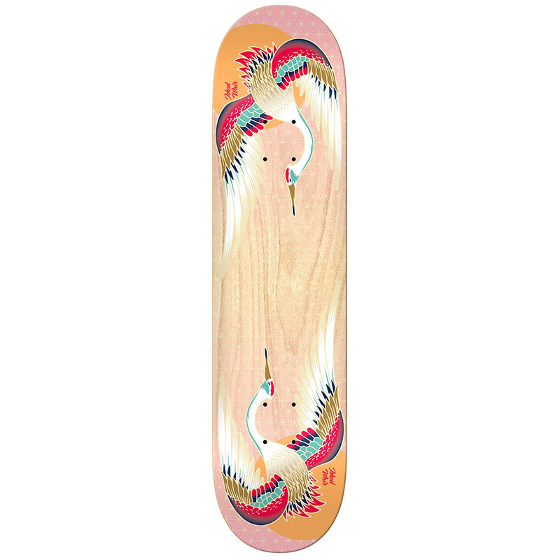 Real Ishod Sunrise Twintail Skateboard Deck 8.0