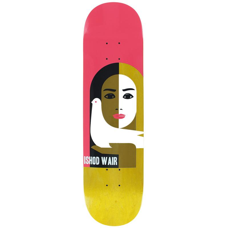 Real Ishod Wair Peace Skateboard Deck 8.06