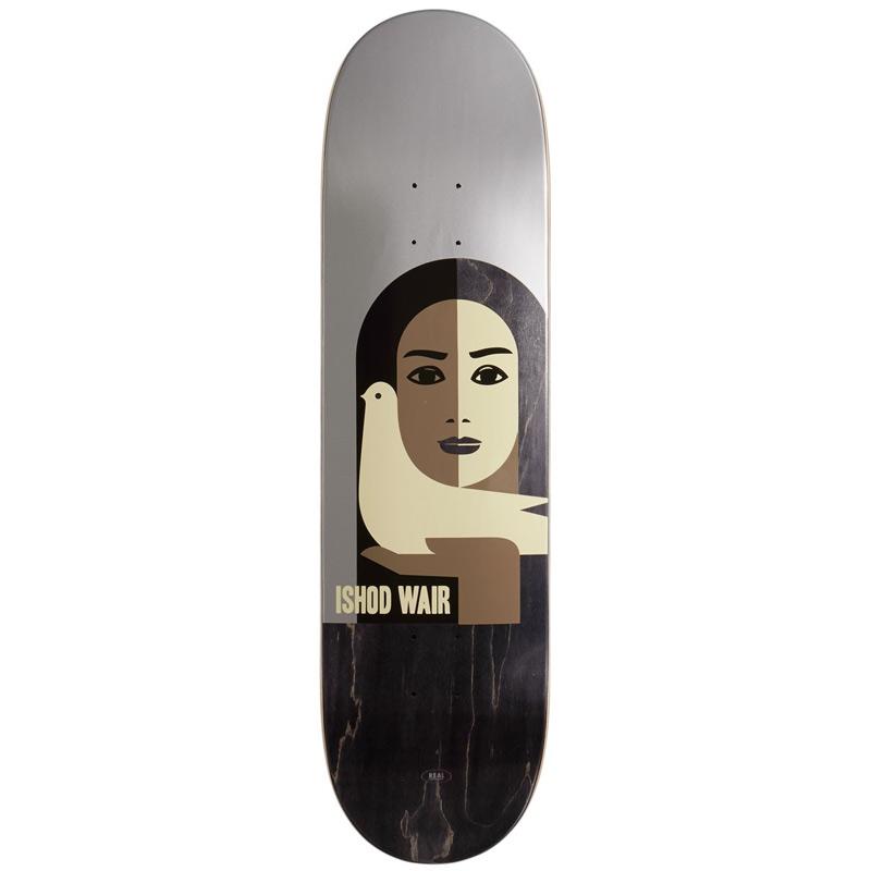 Real Ishod Wair Peace Skateboard Deck 8.38