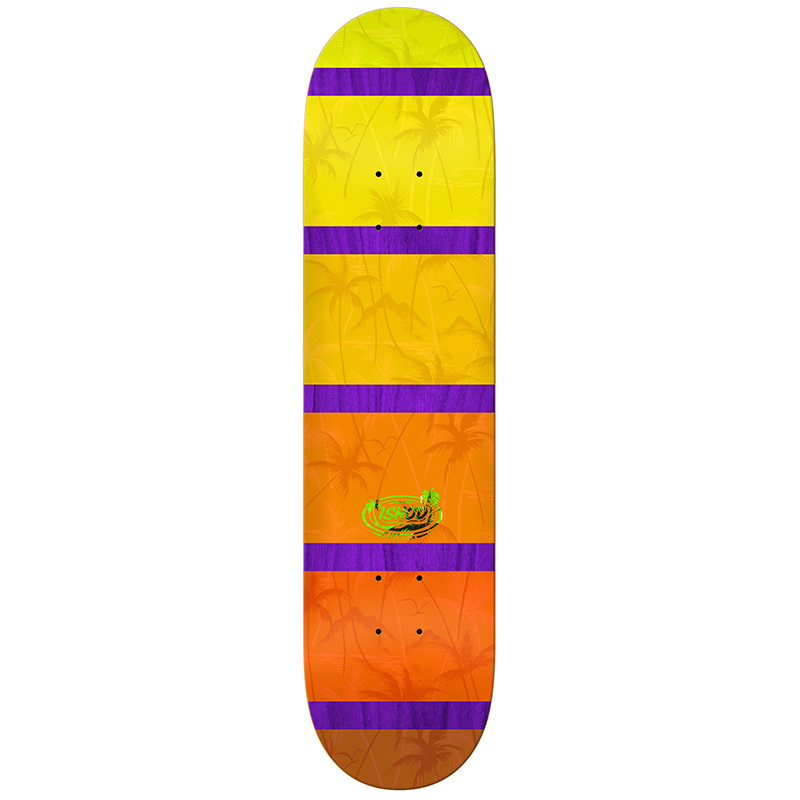 Real Ishod Wair Tropical Slick Skateboard Deck 8.06