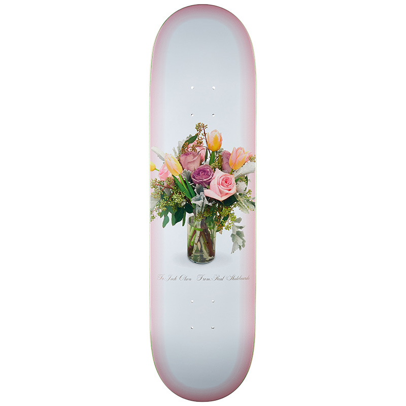 Real Jack Olson Dearest Jack Skateboard Deck 8.38