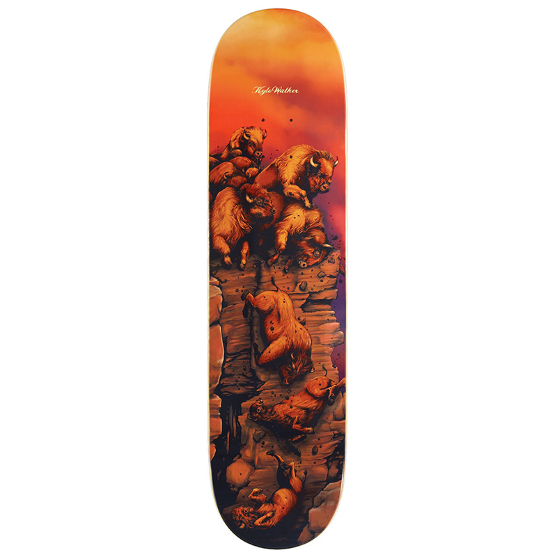 Real Kyle Great Heights Skateboard Deck 8.06