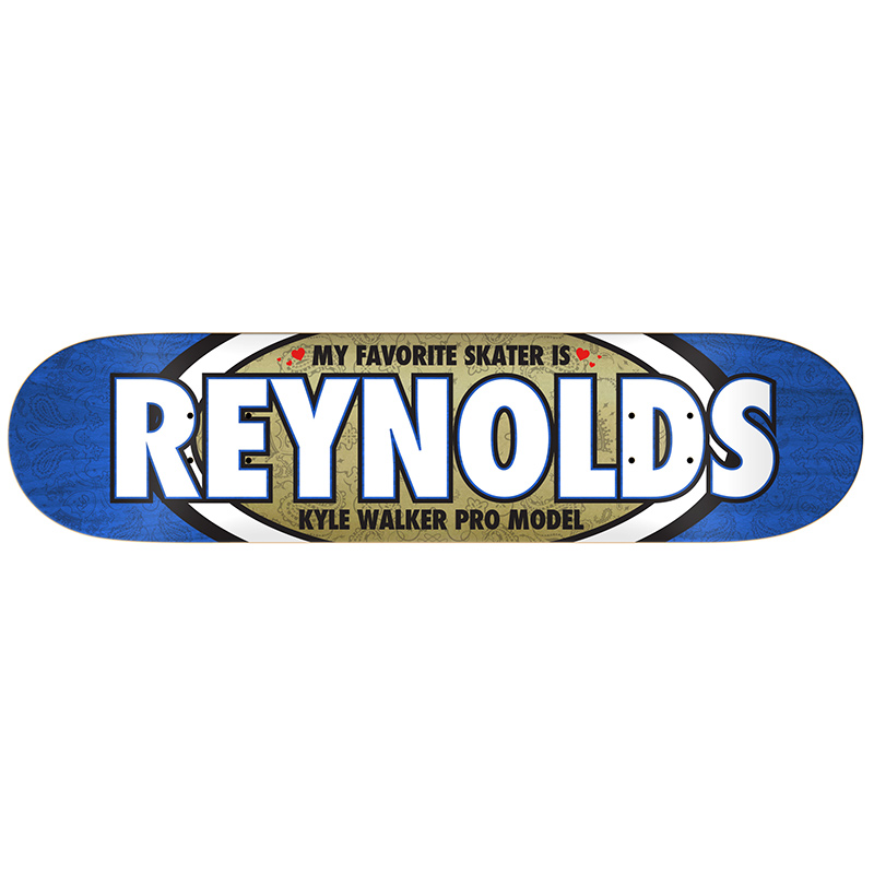 Real Kyle Walker Favorite Skateboard Deck 7.75