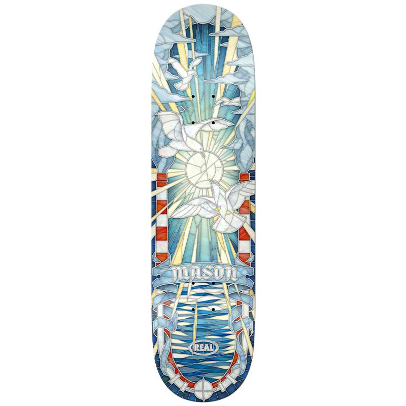 Real Mason Cathedral Skateboard Deck 8.38