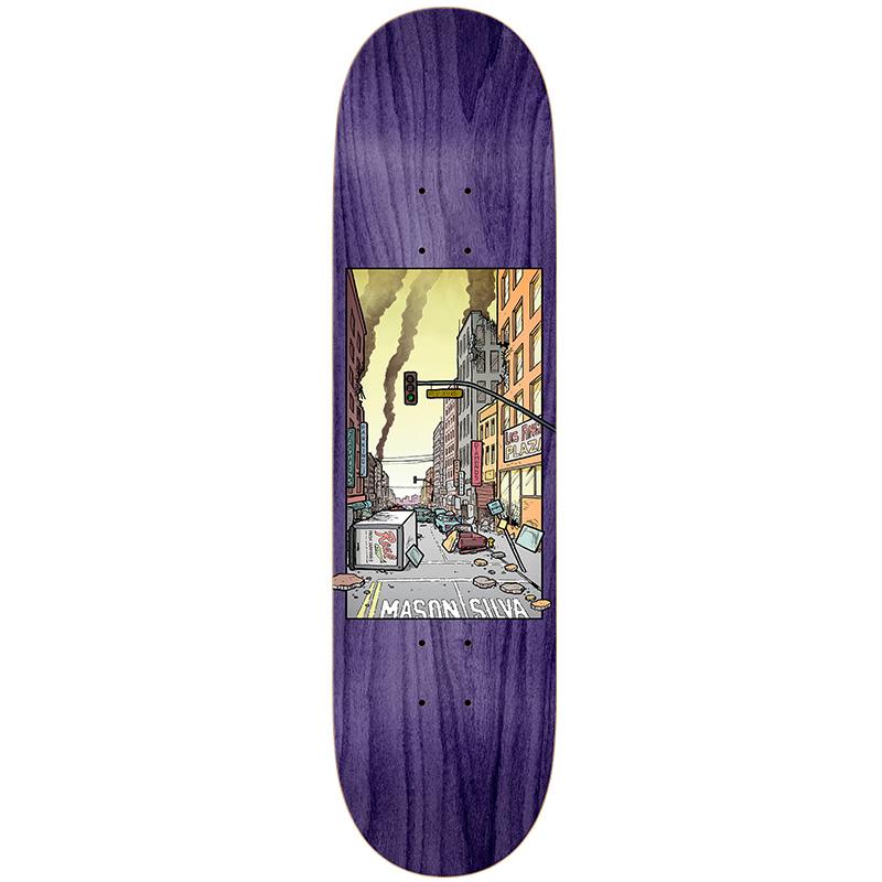 Real Mason Nice Neighborhood Skateboard Deck 8.28