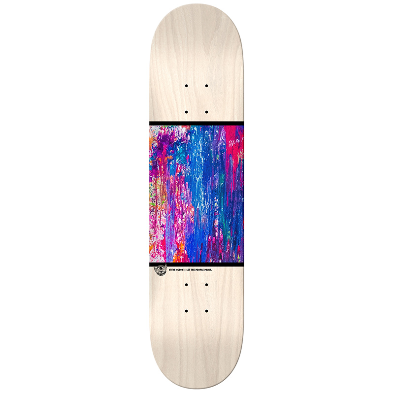 Real Olson Actionrealize Skateboard Deck 8.38