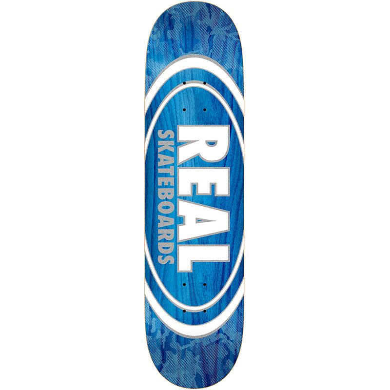 Real Oval Pearl Patterns Skateboard Deck Assorted Veneers 7.75