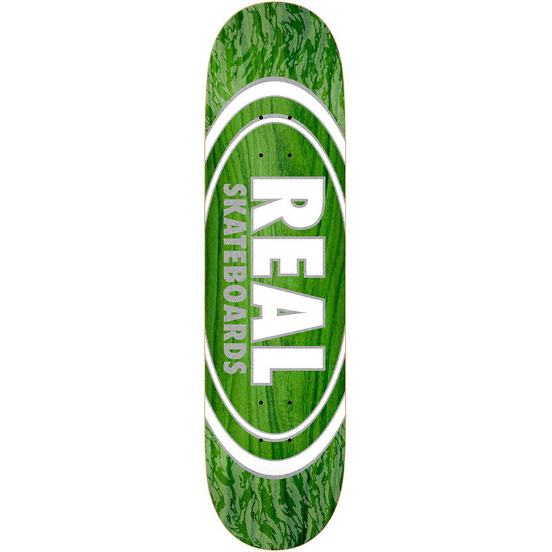 Real Oval Pearl Patterns Skateboard Deck Assorted Veneers 8.06