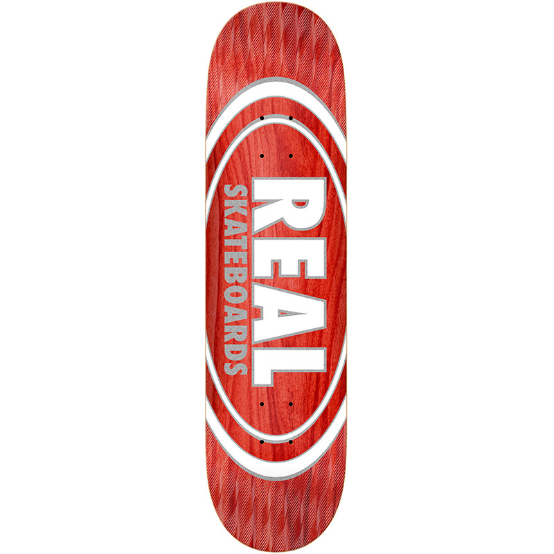 Real Oval Pearl Patterns Skateboard Deck Assorted Veneers 8.5