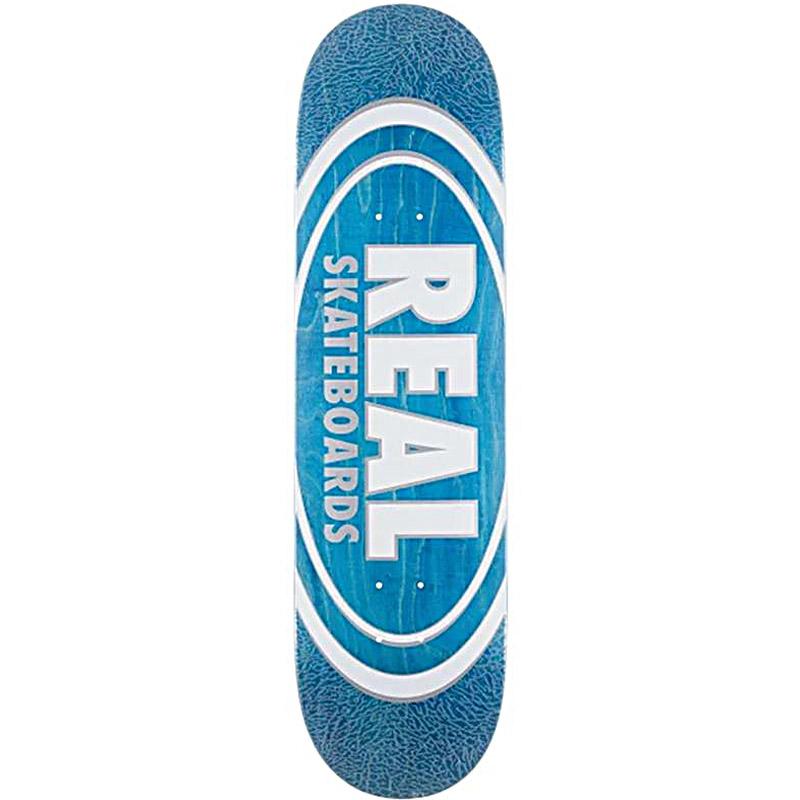 Real Oval Pearl Patterns Skateboard Deck Assorted Veneers 8.75