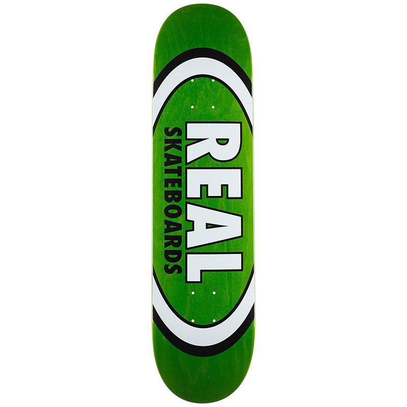 Real Overspray Oval Skateboard Deck 8.06