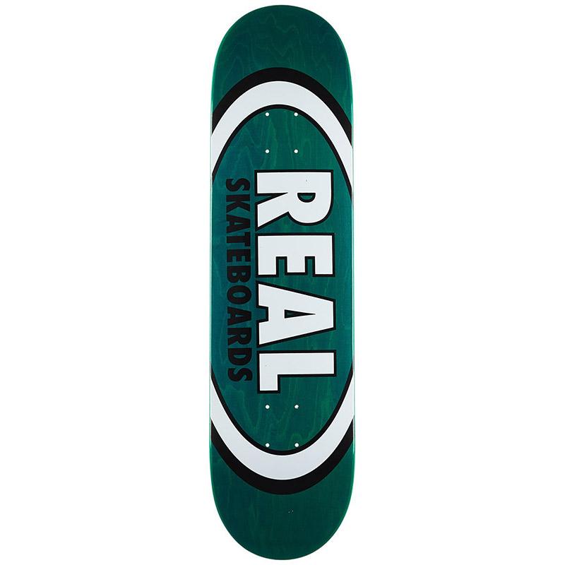 Real Overspray Oval Skateboard Deck 8.12