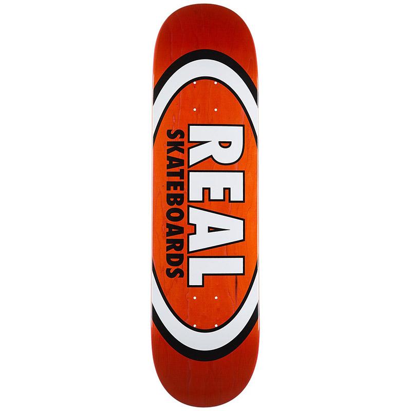 Real Overspray Oval Skateboard Deck 8.25