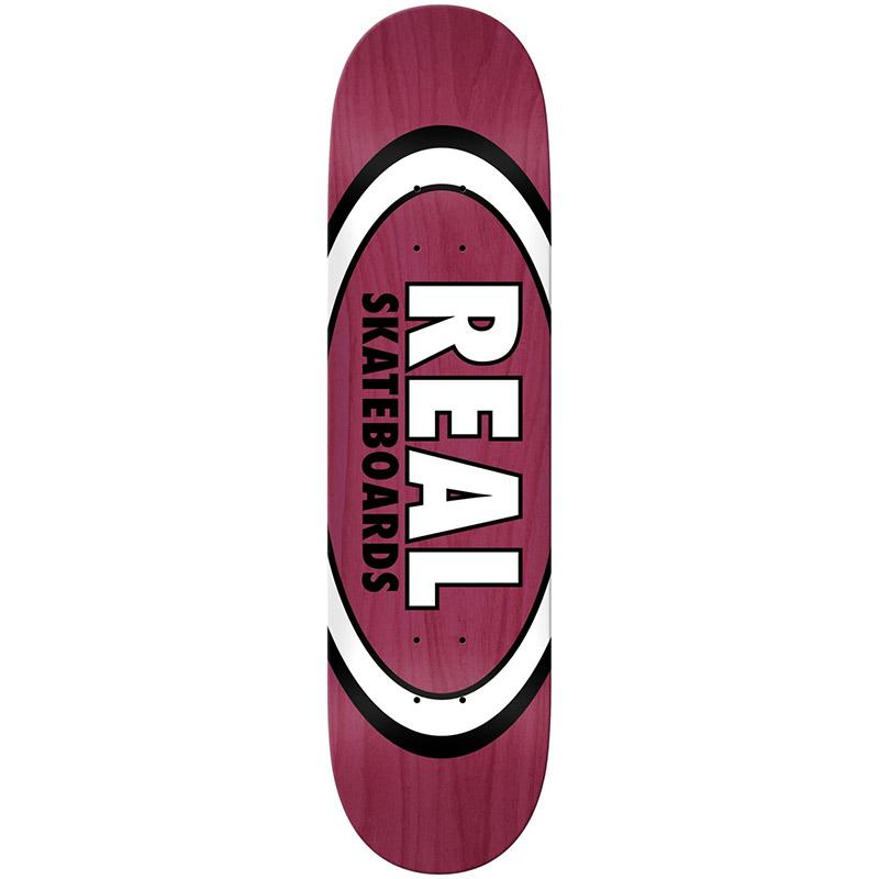 Real Overspray Oval Skateboard Deck 8.38